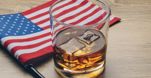 The States That Drink the Most American Whiskey [MAP]