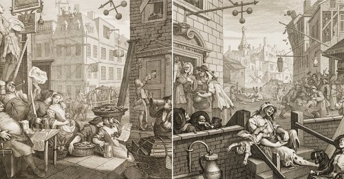 The Complete and Slightly Insane History of Gin in England
