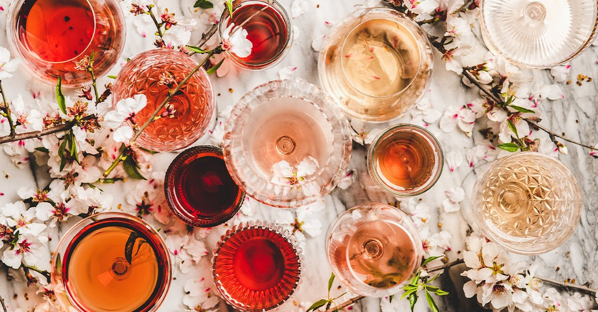 The States That Drink the Most Rosé [MAP]