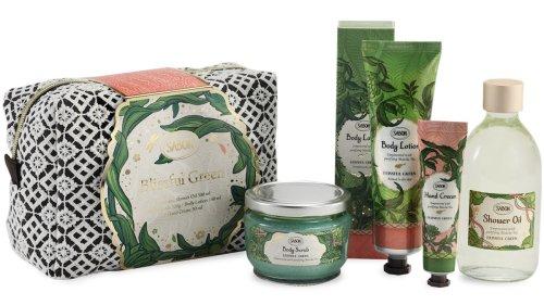 サボンから抹茶に魅せられた限定コレクション「ブリスフル・グリーン」が登場。