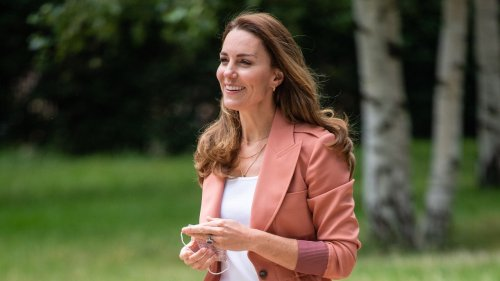 The Duchess Of Cambridge Steps Out In The Royals' Sustainable Trainer Of Choice