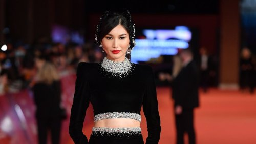 Gemma Chan Champions Rising Couturier Sohee Park On The Eternals Red Carpet