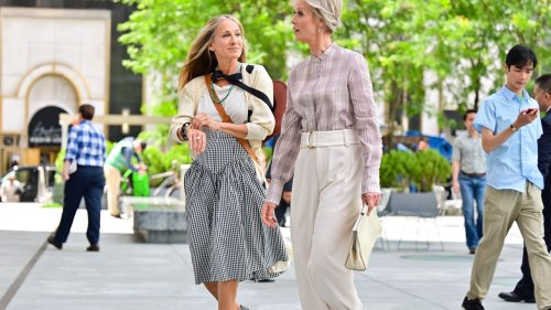 Move Over Manolos, Carrie Has Found A New Shoe Crush In 'And Just Like That'