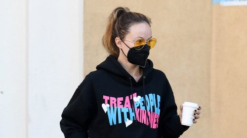 Olivia Wilde Has The Best Harry Styles Merch Out There