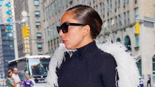 Lady Gaga Does The Chic Summer Up-Do In Two Different Ways