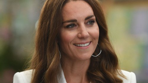 The Duchess Of Cambridge Makes An Elegant Nod To Sustainable Fashion Choices With A Beaded 1930s Purse