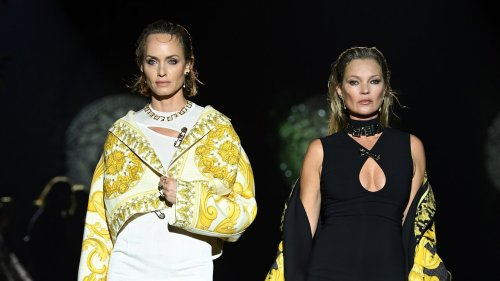 """Kate, Amber And Naomi Lead An Army Of Supermodels At A """"Fendace"""" Show To Remember"""