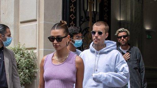 Lilac Gets The Hailey Bieber Treatment In Paris