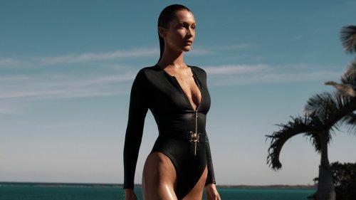 Bella Hadid And Cindy Bruna Transform Into Bond Girls For Michael Kors