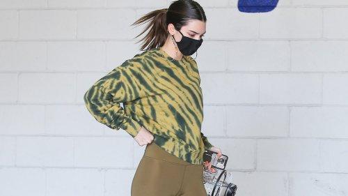 Behold Kendall Jenner's Beyond Luminous Post-Workout Skin