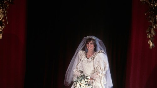 40 Years On, A Detailed Look At Princess Diana's Dream Of A Wedding Gown