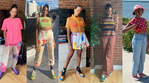 How One Vogue Editor Stays Colorful and Comfortable While Working Remote