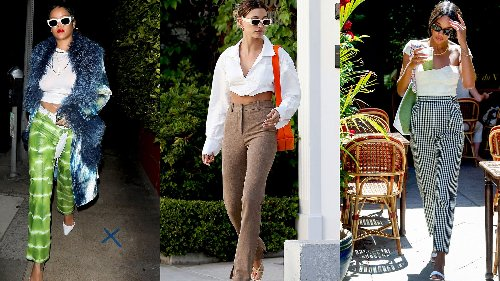 Rihanna, Hailey Bieber, Laura Harrier and More of the Week's Best Dressed