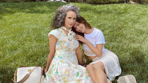 Andie MacDowell and Rainey Qualley Debut Their Dreamy Mother's Day Coach Campaign