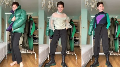 This TikTok Creator Has Mastered the Art of Getting Ready on the Train