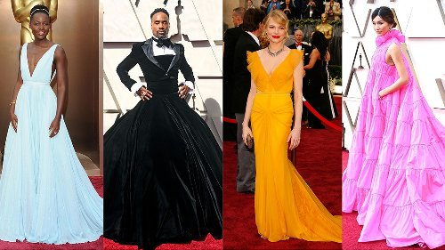 The 48 Best Oscars Red Carpet Dresses of All Time