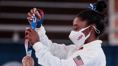 Simone Biles Has Finished Out the Tokyo Olympics With Another Medal