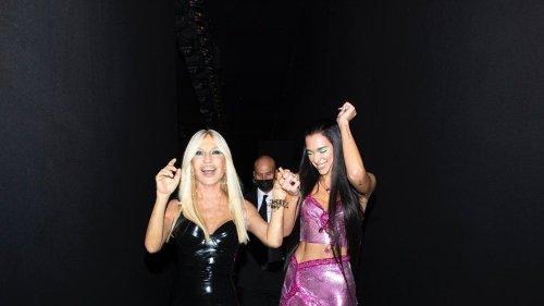 Images of the Week: Dua Lipa Shuts Down the Catwalk at Versace