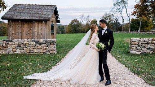 Jennifer Gates Wore Vera Wang Haute for Her Wedding to Nayel Nassar