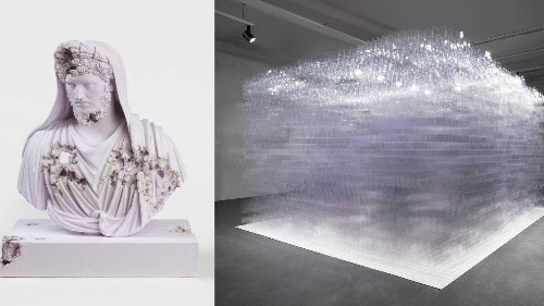 The Beguiling Appeal of Daniel Arsham's 'Time Dilation' and Tara Donovan's 'Intermediaries'