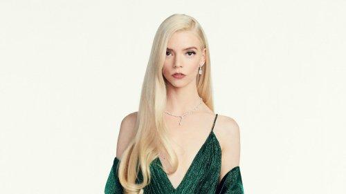 Anya Taylor-Joy's Custom Dior Golden Globes Dress Took Over 300 Hours to Make