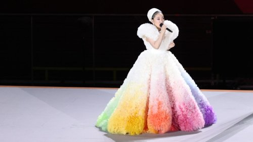 This Japanese Singer's Dreamy Olympics Gown Set the Internet Alight