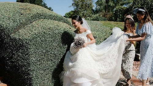 Just Outside of Madrid, This Countryside Wedding Combined Spanish and Filipino Traditions