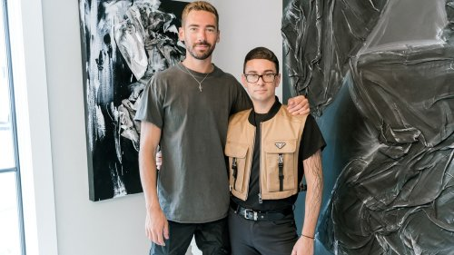 Christian Siriano Is Painting His Pandemic Feelings
