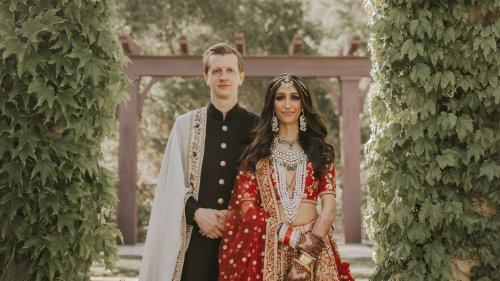 The Bride Wore Sabyasachi Couture for Her Intimate Wedding Weekend in Napa Valley