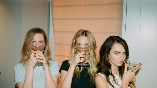 The Delevingne Sisters Officially Launch Their Prosecco in the U.S.
