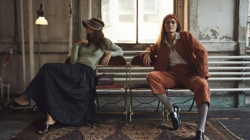 The Designer Crafting '40s-Inspired Clothes From High-End Castoffs