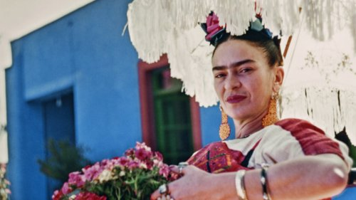 Never-Before-Seen Pictures of La Casa Azul, Frida Kahlo's Mexico City Home