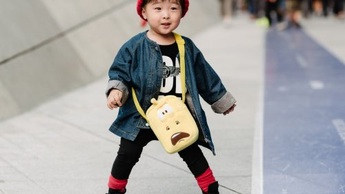 Meet the Tiny Street Style Stars at Seoul Fashion Week