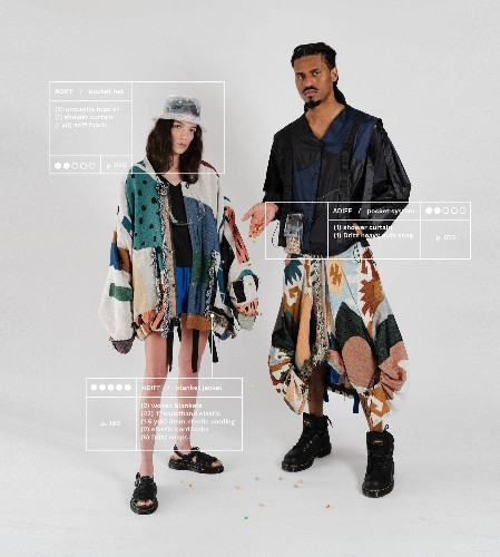 """Open Source Fashion Cookbook Is Sharing """"Recipes"""" for Upcycling at Home, With Patterns by Raeburn, Chromat, and More"""