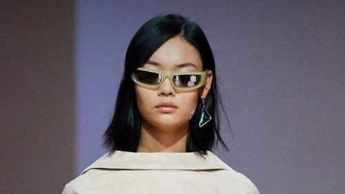 At Prada, 24 Models Received Virtual Cool-Girl Haircuts