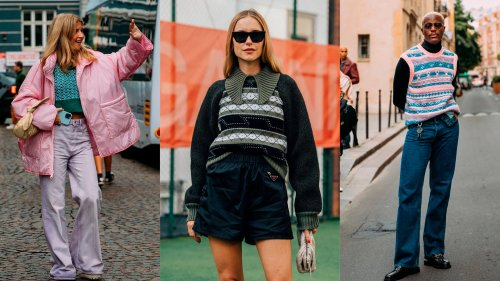 Once a Classic, Now an It-Item, Fair Isle Sweaters Are Taking Over Street Style