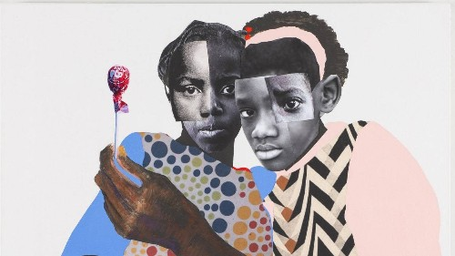 In Deborah Roberts's Art, an Interrogation of What Society Imposes on Black Children