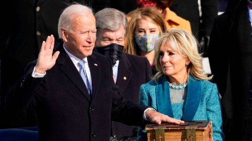 The Best Twitter Reactions to President Joe Biden's Inauguration