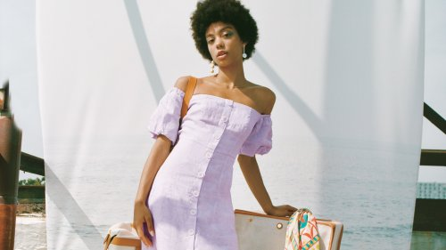 A Linen Dress Is The Only One You'll Need This Summer