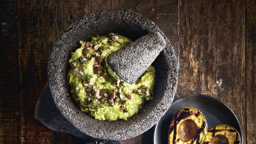 The Capri in Marfa Shares Its Famous Grilled Avocado Guacamole Recipe