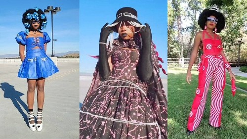 This Student's Upcycled Designs Go Viral on TikTok