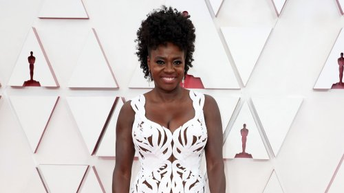The Story Behind Viola Davis's Breathtaking Alexander McQueen Oscars Gown