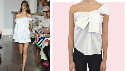 4 DIY Takes on the Hottest Off-the-Runway Trend