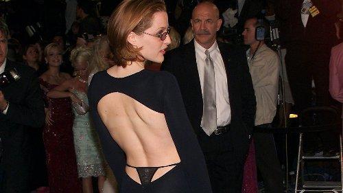 Gillian Anderson stellte mit ihrem Tanga-Abendkleid Angelina Jolie, Rose McGowan und Drew Barrymore in den Schatten