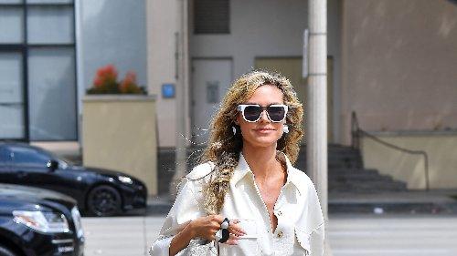 Heidi Klum revolutioniert mit diesem Style die Art, wie wir monochrome Outfits in Zukunft tragen
