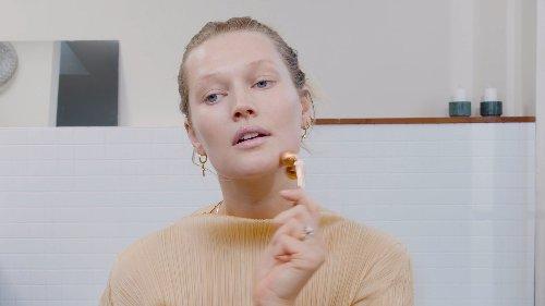 Toni Garrn: Auf diese Beauty- und Pflegeprodukte setzt sie in der Schwangerschaft