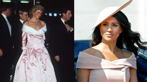 5 veces en las que Meghan Markle y el príncipe Harry rindieron homenaje a Lady Di