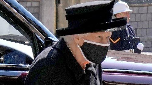 Todos los asistentes al funeral del Duque de Edimburgo