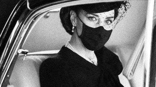 El significado que esconden las joyas de Kate Middleton en el funeral del duque de Edimburgo