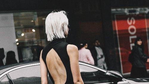 Los vestidos de punto de esta firma conquistan a las que más saben de moda